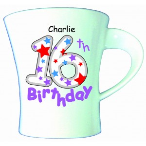 Birthday Stars Male Mug