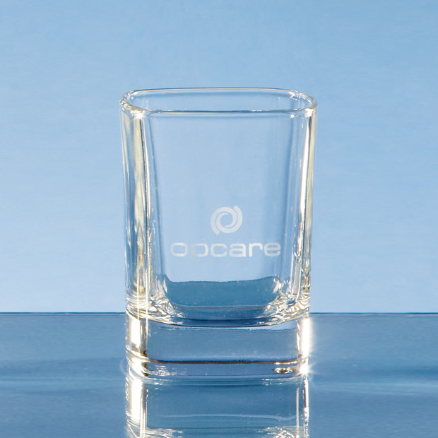 Strauss Square Tot Glass