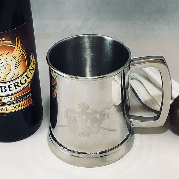 STAINLESS STEEL TANKARD POLISHED FINISH