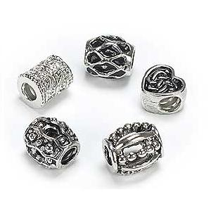 Silver Plated Various x 5